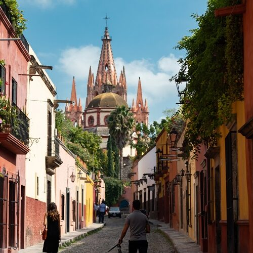 San Miguel de Allende is a peacefull town in mexico